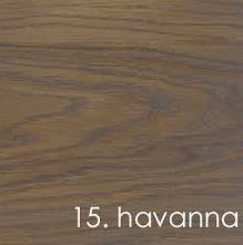 Kleurstaal Massief Eiken Rubio Monocoat - kleur Havanna